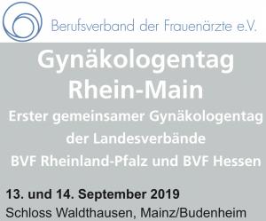 Gynäkologentag Rhein-Main